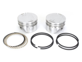 +.010in. Dish Top Pistons with 8.5:1 Compression Ratio. Fits Big Twin 1984-1999.