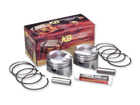 +.020in. Dome Top Pistons with 10.5:1 Compression Ratio. Fits Big Twin 1984-1999.
