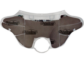 Dynamat Sound Control Fairing Kit. Fits Touring 2014up with Batwing Fairing.