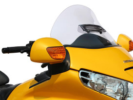 Flare Windshield; GL1800'01up Adjustable from 14-18