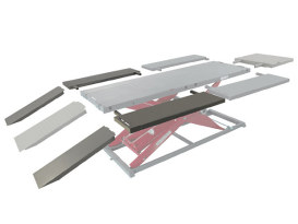 Wide Side Panel & Ramp Kit for MC625R, MC650R & MC655R Lifts.