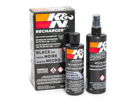 Air Filter Care Service Kit - Squeeze Black.