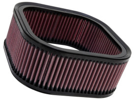 K&N Air Filter Element. V-Rod 2002-2017. High Flow Element & OEM Replacement.