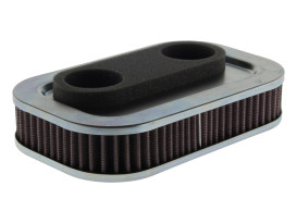 OEM Replacement Air Filter Element. Fits Sportster 1988-1994 with CV Carburettor.
