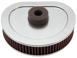 Air Filter Element; Big Twin'90-94. High Flow Element & OEM Replacement (HDI Australian Models).