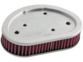 Air Filter Element; Dyna'08up. High Flow Element & OEM Replacement.