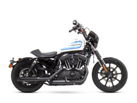 3in. HP-Plus Slash Cut Slip-On Mufflers - Black. Fits Sportster 2014up.