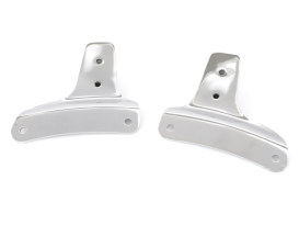 Sissy Bar Side Straps with Chrome Finish. Fits Touring 2009-2013.