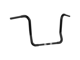 14in. x 1-1/4in. Fat Bagger Ape Handlebar - Black. Fits Touring 1996up with Fairing.