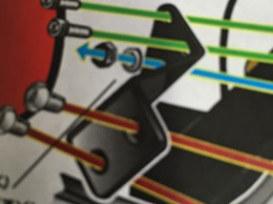 Bracket, 06 later Dyna Aero & Aero ACompressor Mnt to Frame