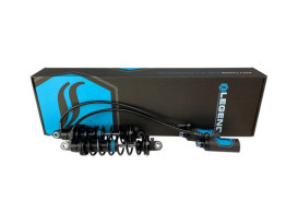 Revo ARC Remote Reservoir Suspension. 14in. Adjustable Rear Shock Absorbers - Black. Fits Touring 2014up.