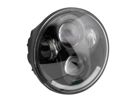 5-3/4in. LED HeadLight - Black. Fits H-D & Indian Scout Models with 5-3/4in. Headlight.