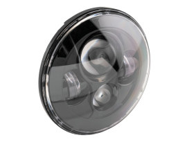 7in. LED HeadLight Insert - Black. Fits H-D, Indian Chief Classic & Dark Horse Models with 7in. Headlight.