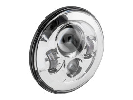 7in. LED HeadLight Insert - Chrome. Fits H-D, Indian Chief Classic & Dark Horse Models with 7in. Headlight.