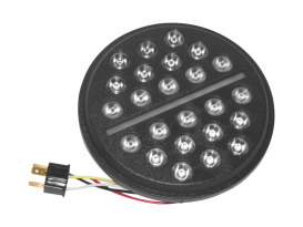 7in. Buck-Shot Fly Eye LED HeadLight Insert Black