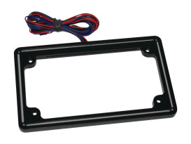 Perfect Plate Light License Plate Frame Gloss Black