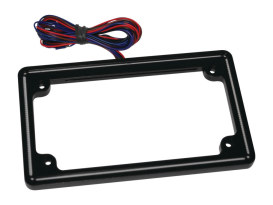 Perfect Plate Light License Plate Frame Matte Black