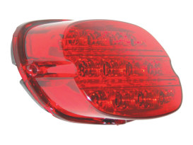Premium Slantback Low-Profile LED Tailight Red Lens Most Models 1999 Up