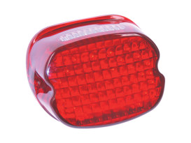Slantback Low-Profile LED Tailight Red Lens Most Models 1999 Up