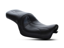 Sorrento Dual Seat. Fits 883C & 1200C Sportster Custom 2004-2006 & 2010up Models with Factory 4.5 Gallon Fuel Tank.