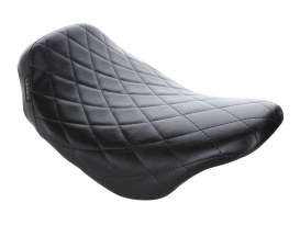 BareBones Solo Seat with Diamond Stitching. Fits Touring 2008up.