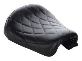 Bare Bones Solo Seat with Diamond Stitch. Fits Sportster Forty-Eight & Seventy-Two 2010up Models.