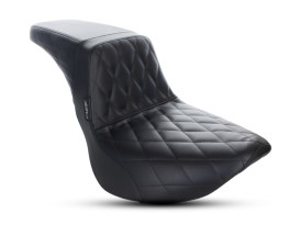 Kickflip Dual Seat with Diamond Stitch. Fits M8 Softail Streetbob 2018up.