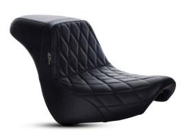 KickFlip Dual Seat with Black Diamond Stitch. Fits Breakout 2018up.