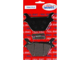 Z-Plus Brake Pads. Fits Rear on Sportster 1987-1999 & Big Twin 1987-1999.