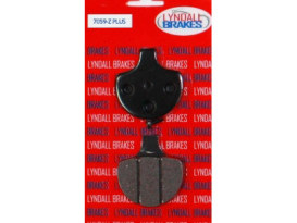Z-Plus Brake Pads. Fits Front on Sportster 1984-1999, Big Twin 1984-1999 & Springer Softail 1988up.