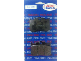 Brake Pads. Fits Rear on Softail 2006up with Performance Machine 125X4R &  137X4B Intergrated Caliper.