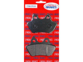 Brake Pads. Fits Rear on Softail 2006-2007 with 200 OEM Rear Tyre.