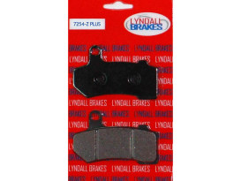Z-Plus Brake Pads. Fits Front & Rear on Touring 2008up & V-Rod 2006-2017.