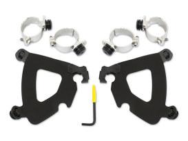 Black Gauntlet Trigger-Lock Mounting Hardware. Fits Street Bob 2018up & Dyna 2006-2017.