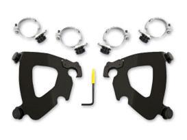 Black Gauntlet Trigger-Lock Mounting Hardware. Fits Low Rider 2018up.