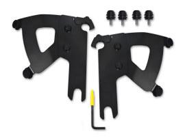 Black Road Warrior Trigger-Lock Mounting Hardware. Fits Road King Custom 2004-2007 & Road King Special 2017up.