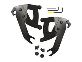 Black Road Warrior Trigger-Lock Mounting Hardware. Fits Slim 2018up.