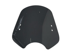 The Shooter Black Smoke Handlebar Mount Windshield. 14in. High x 19in. Wide.