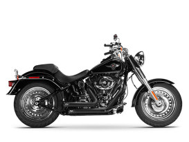 Bandit Exhaust with Black Finish. Fits Softail Breakout 2013-2017 & Rocker 2008-2011 Models.