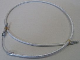 53in. Clutch Cable - Sterling Chromite. Fits FXR & FLT 1984-1986.