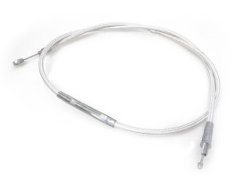 69in. Clutch Cable - Sterling Chromite. Fits Big Twin 1987-2006 with 5 Speed Transmission.