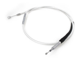 69in. Clutch Cable - Sterling Chromite. Fits Softail 2007up & Dyna 2006-2017.