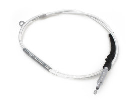 65in. Clutch Cable - Sterling Chromite. Fits Softail 2007up & Dyna 2006-2017.