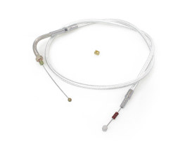 36in. Idle Cable - Sterling Chromite. Fits Big Twin 1990-1995.