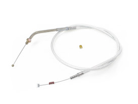 30in. Idle Cable - Sterling Chromite. Fits Sportster 1988-1995.