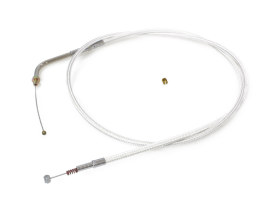 48in. Idle Cable - Sterling Chromite. Fits Big Twin 1990-1995.