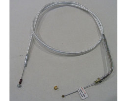 42in. Idle Cable - Sterling Chromite. Fits Big Twin 1990-1995.