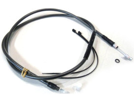 63in. Clutch Cable - Black Pearl. Fits Big Twin 1987-2006 with 5 Speed Transmission.