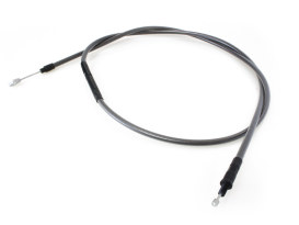 73in. Clutch Cable - Black Pearl. Fits Big Twin 1987-2006 with 5 Speed Transmission.