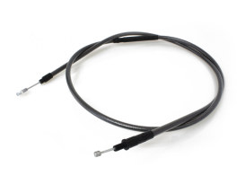 69in. Clutch Cable with - Black Pearl. Fits Sportster 2004up.